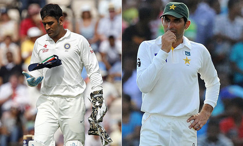 Test woes: Are Dhoni and Misbah guilty of the same offense?