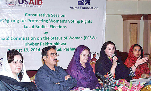 Poll rejection over women's poor participation urged