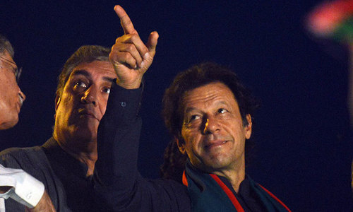 Two PTI workers question Imran's call for civil disobedience