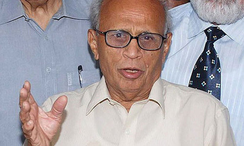 Justice (retd) Fakhruddin G Ebrahim admitted to hospital