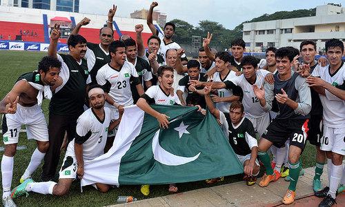 Pakistan defeats India 2-0 to level football series
