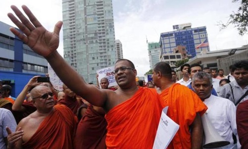 Buddhist clergy group plans to field presidential candidate in Lanka