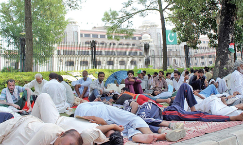 PAT workers lack facilities at new sit-in site