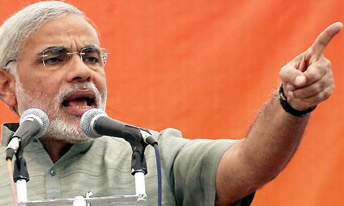 Domestic agenda may be behind Modi's 'Kashmir slugfest'