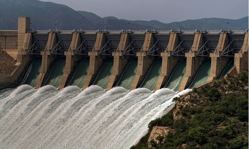 Tarbela filled but decline in water shares feared