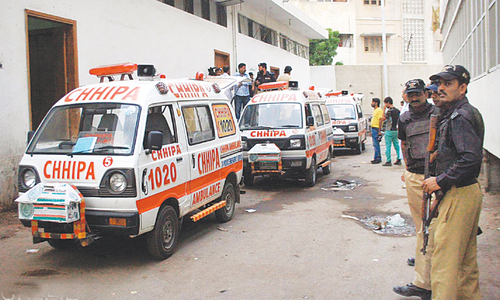 Another setback to ambulance project