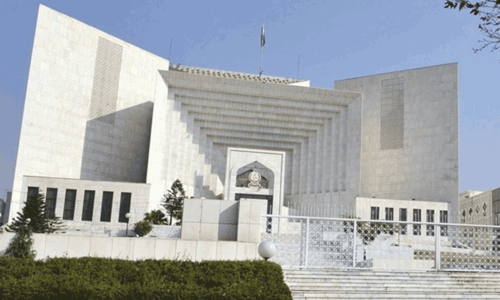 Petition against PTI, PAT sit-ins: SC hearing adjourned until tomorrow