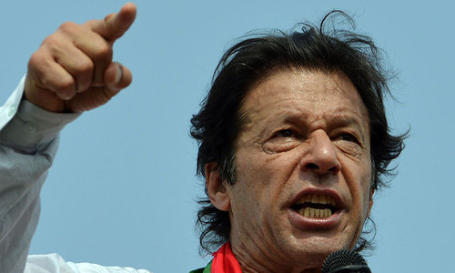 US meddling in Pakistan's politics, says Imran Khan