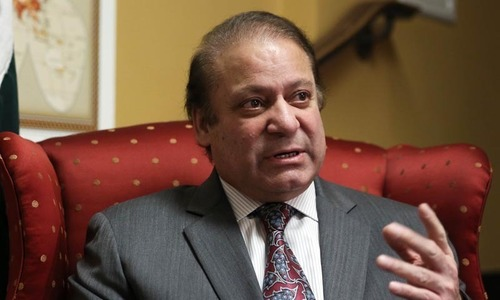 All but one party in Parliament with us: PM Nawaz
