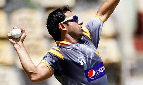 Ajmal misses first Sri Lanka ODI for tests on action