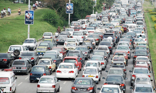 Traffic congestion causes problems for all and sundry