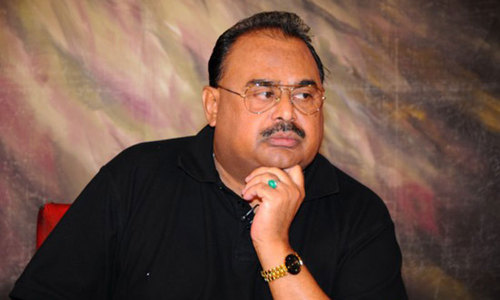 MQM chief appeals stakeholders to end political turmoil