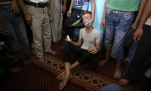 Israel, Palestinians trade fire; two killed in Gaza