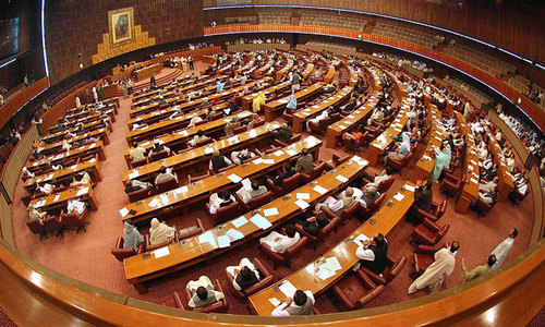 PTI lawmakers tender NA resignations