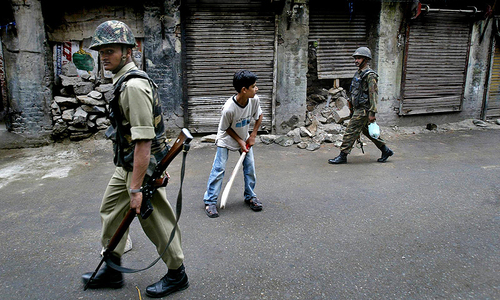 Kashmir's quiet boys: Bowling under the occupation