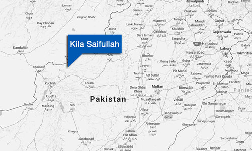 Cross border attack kills soldier in Balochistan