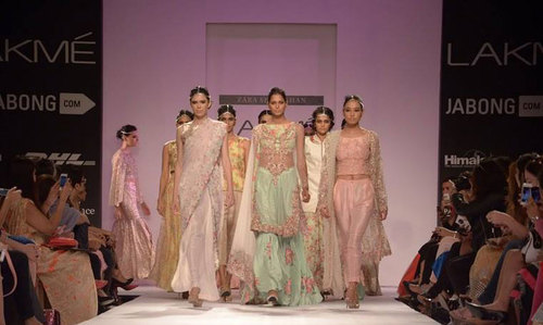 Top Pakistani designers showcase at Lakmé Fashion Week.