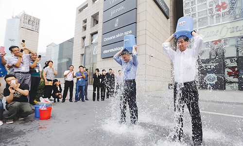 Ice bucket challenge may change non-profit world