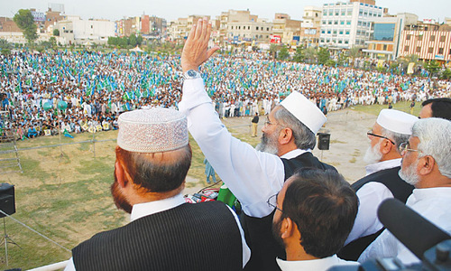 JI chief urges Imran to withdraw  MNAs' resignations