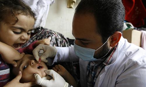 The polio challenge