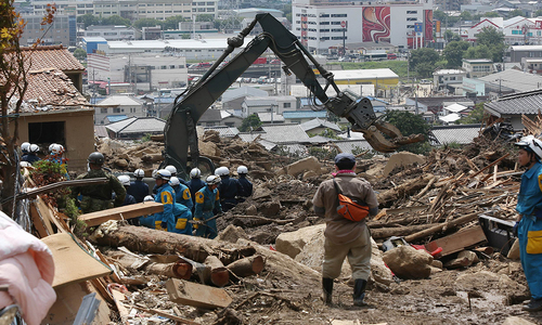 Deadly landslide hits Japan's Hiroshima