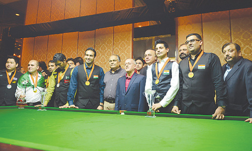 Slick India 'A' keep Asian Team Event Snooker crown