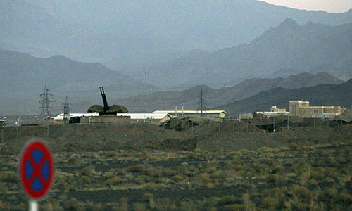 Iran says it downed Israeli drone over nuclear site