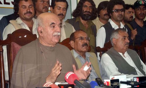 Achakzai calls for formation of democratic front
