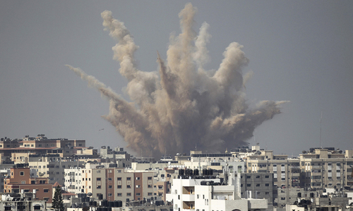 Gaza — more destruction