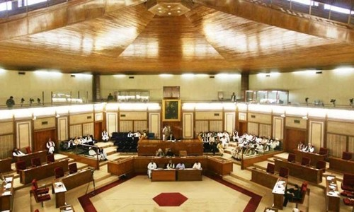 PML-N members continue boycott of Balochistan Assembly session