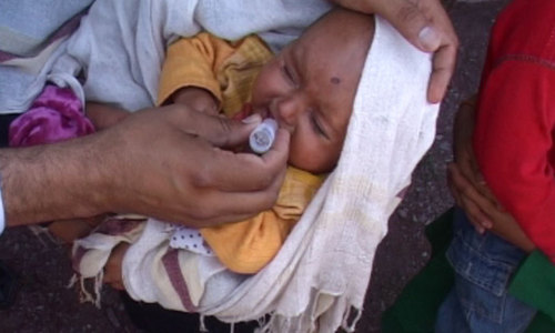 Anti-polio drive in Khyber after two months break
