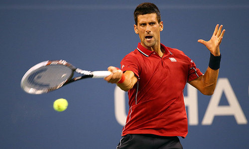 Djokovic, Sharapova sparkle after others toil