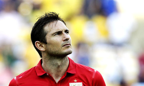 Lampard calls time on England career