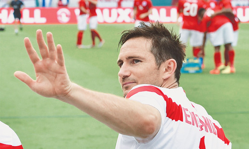 Lampard quits internationals