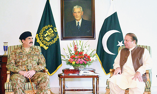 Army wants immediate political settlement
