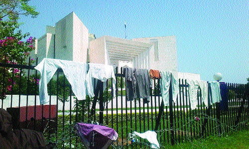 SC's objection  to 'dirty laundry' ignored