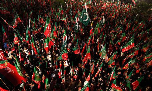 PTI sit-ins continue