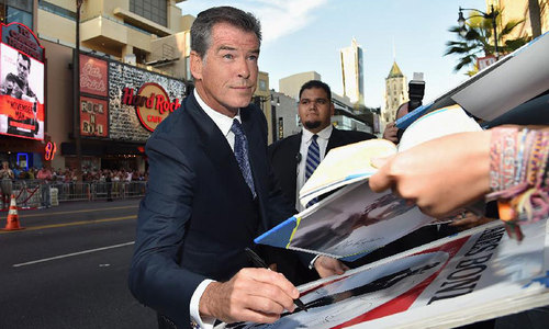 Ex-007 Pierce Brosnan back as spy in new action thriller