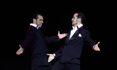 Tango dancers show off at World Tango Championship 2014