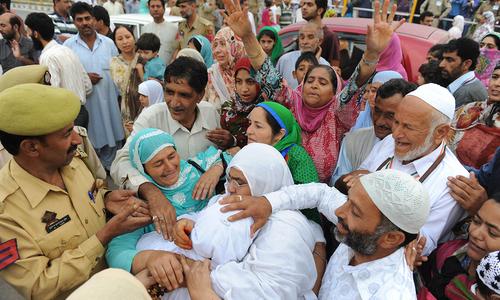 Kashmir's Haj pilgrims departs for Makkah