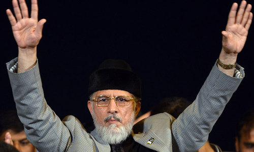 Qadri extends deadline for few hours after meeting with ministers