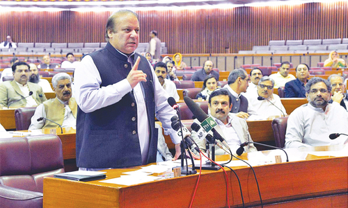 Sharif vows to defend Constitution