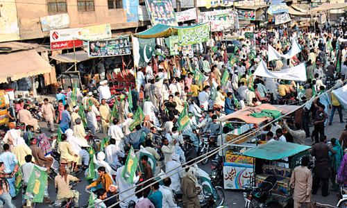 Rain disrupts PML-N rally in Multan