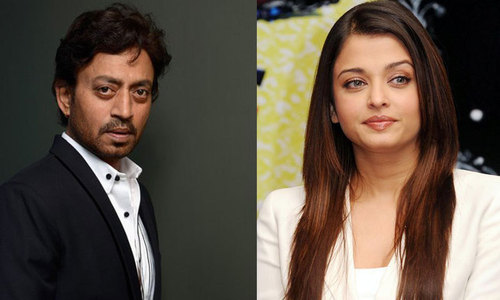Irrfan, Aishwarya Rai Bachchan pair up for film