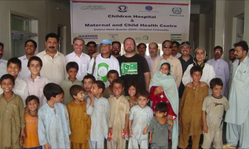 Setting up clinics in Pakistan the Todd Shea way