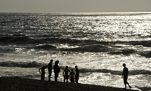 Whistles, no bikinis... Baywatch Gaza-style