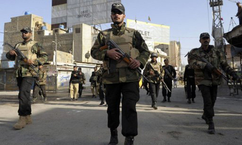 Three security personnel injured as militants attack convoy