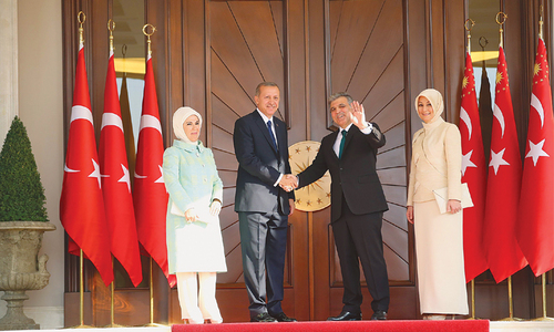 Erdogan sworn in as Turkish president