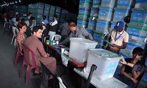 Afghan poll result delayed again despite US pressure