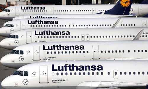 Dozens of planes grounded in German pilot strike